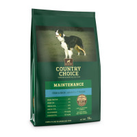 Gelert Country Choice Maintenance Fish & Rice Adult Dog Food 12kg