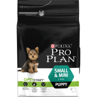PRO PLAN OPTISTART Chicken Small & Mini Puppy Food 3kg