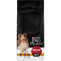 PRO PLAN with OPTIHEALTH Rich in Chicken Adult Dog Food 14kg
