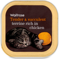 Waitrose Special Recipe Chicken & Duck Cat Food 100g x 17