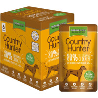 Natures Menu Country Hunter Chicken Pouch Adult Dog Food 150g x 6