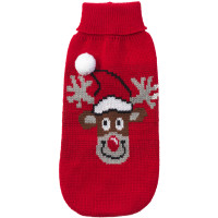 House of Paws Rudolph Christmas Dog Jumper 14""