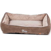 Tramps Thermal Lounger Self Heating Cat Bed Chocolate