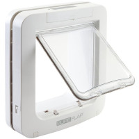 Sureflap Microchip Pet Door Cats & Small Dogs White
