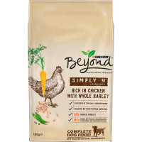 Purina Beyond Simply 9 Chicken & Barley Adult Dog Food 10kg x 2