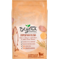 Purina Beyond Superfood Blend Salmon Oats & Sweet Potato Adult Dog Food 10kg x 2