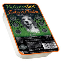 Naturediet Turkey & Chicken Vegetables & Rice Dog Food 390g x 72