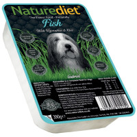 Naturediet Fish Vegetables & Rice Dog Food 390g x 72