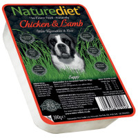 Naturediet Chicken Lamb & Vegetable Dog Food  390g x 72