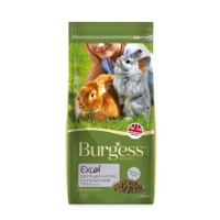 Burgess Excel Nuggets With Mint Light/Overweight Rabbit Food 4kg
