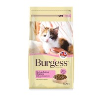 Burgess Complete Chicken Kitten Food 1.5kg
