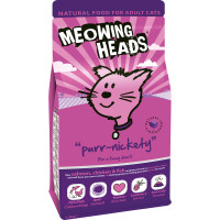 Meowing Heads Purr Nickety Salmon & Chicken Adult Cat Food 1.5kg