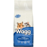 Wagg Hamster & Gerbil Munch 1kg