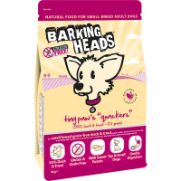 Barking Heads Tiny Paws Quackers Grain Free Small Dog Food 4kg