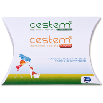 Cestem Flavoured Worming Tablet For Dogs