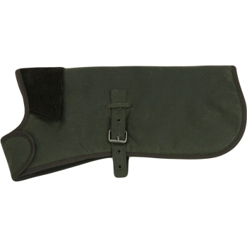 Earthbound Green Premium Wax Cotton Dog Coat
