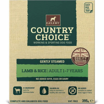 Gelert Country Choice Lamb & Rice Tray