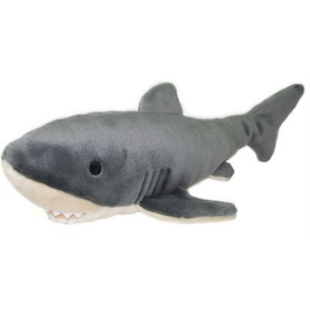 Fluff & Tuff Mac the Shark Dog Toy