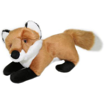 Fluff & Tuff Hendrix Fox Dog Toy