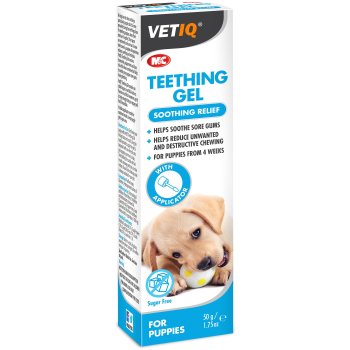 Mark & Chappell VetIQ Teething Gel for Puppies
