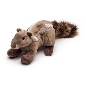 Fluff & Tuff Peanut Chipmunk Dog Toy
