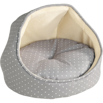 Hunter Igloo White Dots Cat Bed