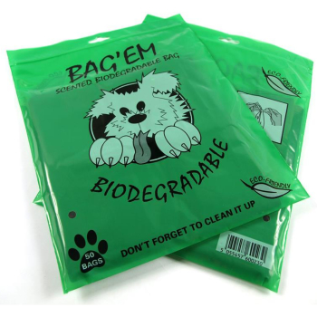 Bag'Em Scented Biodegradeable Poop Bags