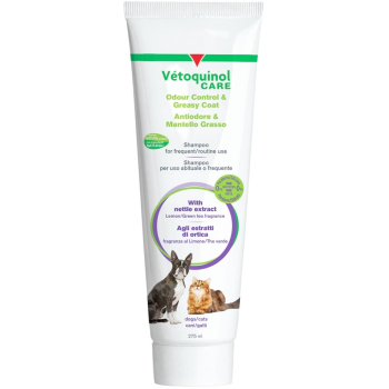 Vetoquinol Care Odour Control & Greasy Coat Dog & Cat Shampoo