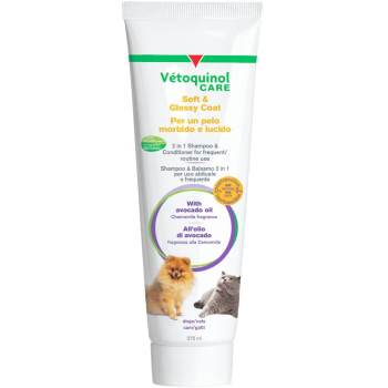 Vetoquinol Care Soft & Glossy Coat Dog & Cat Shampoo