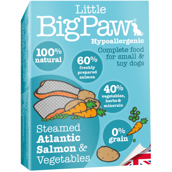 Little Big Paw Steamed Salmon & Veg Dinner Dog Food