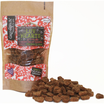 Green & Wilds Luv Hearts Dog Treats