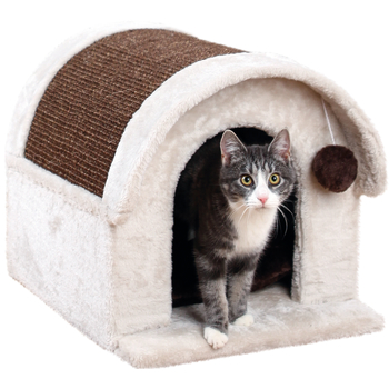 Trixie Arlo Cat Scratcher House