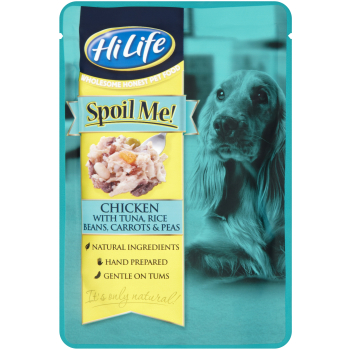 HiLife Spoil Me! Chicken with Tuna & Beans Adult Dog Food