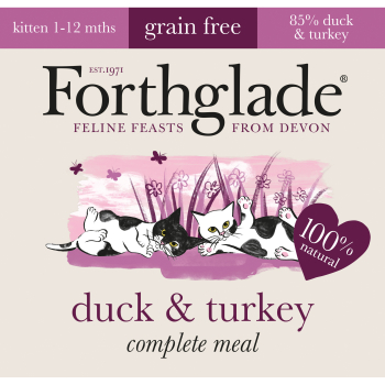 Forthglade Complete Duck & Turkey for Kittens