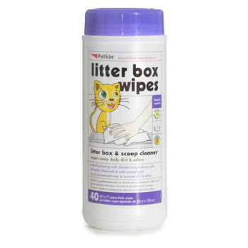 Petkin Cat Litter Box Wipes