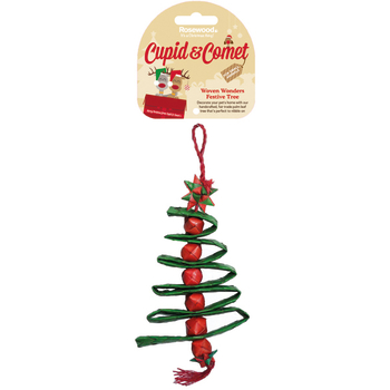 Rosewood Woven Wonders Festive Tree Christmas Decoration