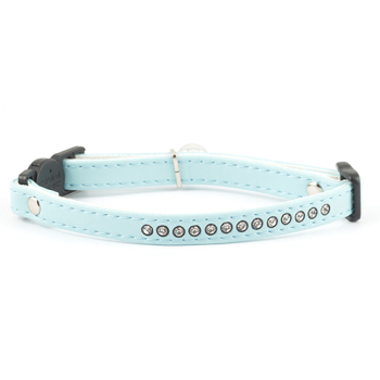 Ancol Jewelled Safety Cat Collar Baby Blue