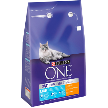 Purina ONE Bifensis Chicken & Wheat Light Adult Cat Food