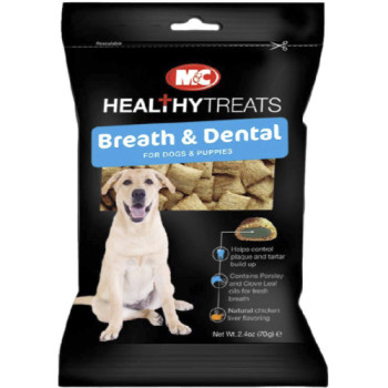 Mark & Chappell Breath & Dental Dog & Puppy Treats