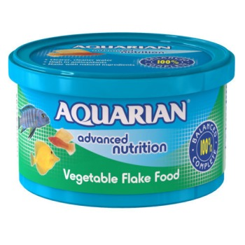 Aquarian Vegetable Tropical Fish Food