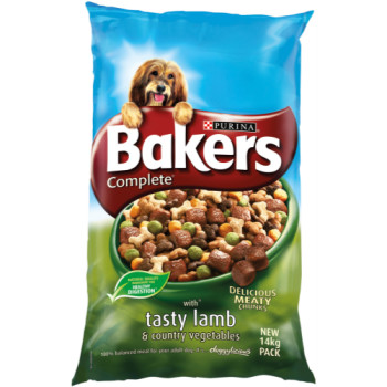 Bakers Complete Lamb & Country Vegetables Adult Dog Food