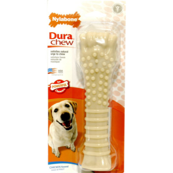 Nylabone DuraChew Chicken Dog Bone Chew