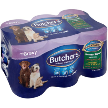 Butchers Country Feasts Dog Food