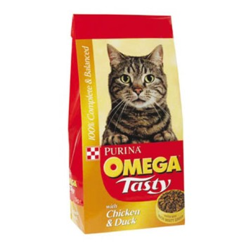 Omega Tasty Chicken & Duck Cat Food 10kg