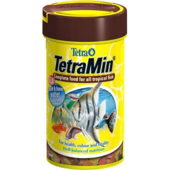 Tetra Min Tropical Fish Food Flakes
