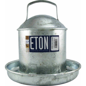 Tusk Eton Galvanised Traditional Poultry Drinker