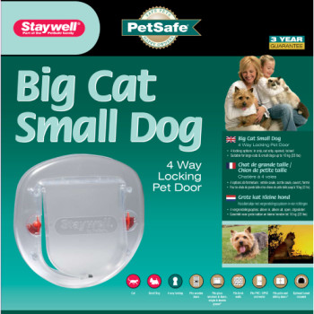 Petsafe Staywell 270 Small Dog Big Cat Clear Pet Door