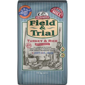 Skinners Field & Trial Turkey & Rice Joint Aid Adult Dog Food
