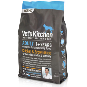 Vets Kitchen Adult Chicken & Brown Rice Dog Food