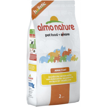 Almo Nature Holistic Chicken & Rice Cat Food